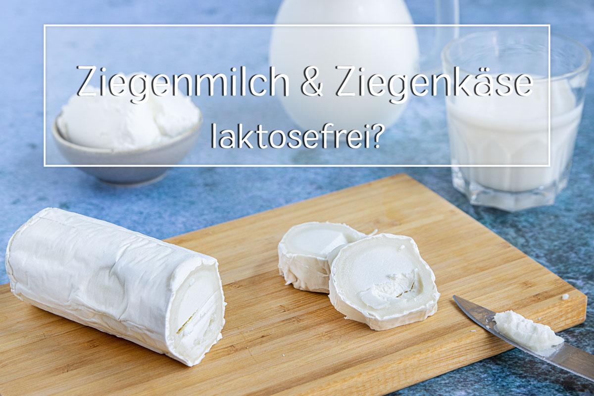Ziegenmilch und Ziegenkäse laktosefrei