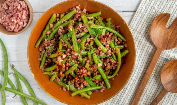 Bohnensalat nach Omas Art