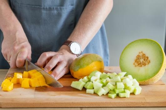 Mango schneiden