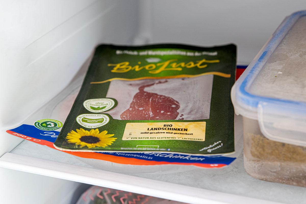 abgepackte Wurst einfrieren