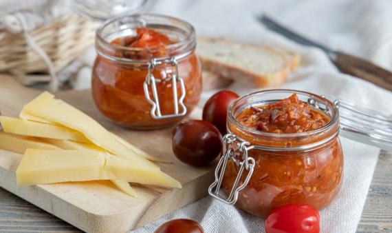 Tomatenchutney mit Balsamico