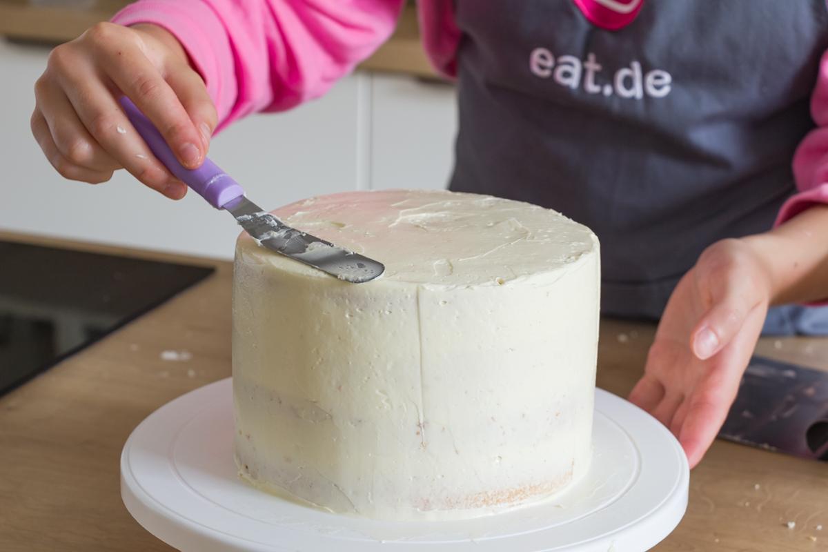 Torte einstreichen