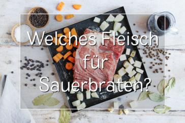 Fleisch für Sauerbraten - Titel