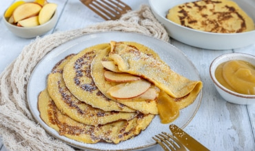 Süße Pfannkuchen nach Omas Rezept
