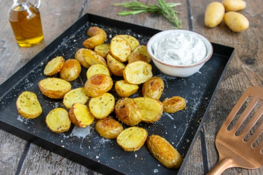 Rosmarinkartoffeln im Backofen