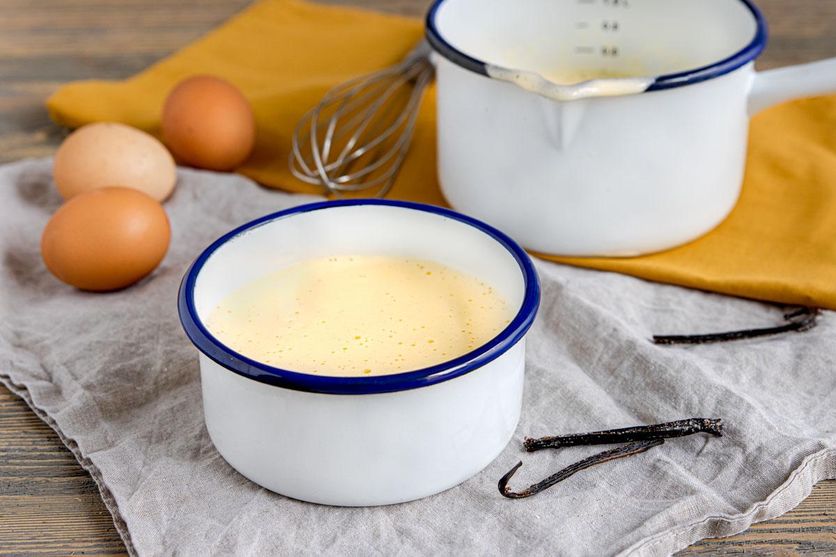 klassische Vanillesauce selber machen