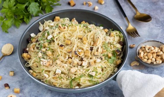 Vegane Spaghetti Carbonara