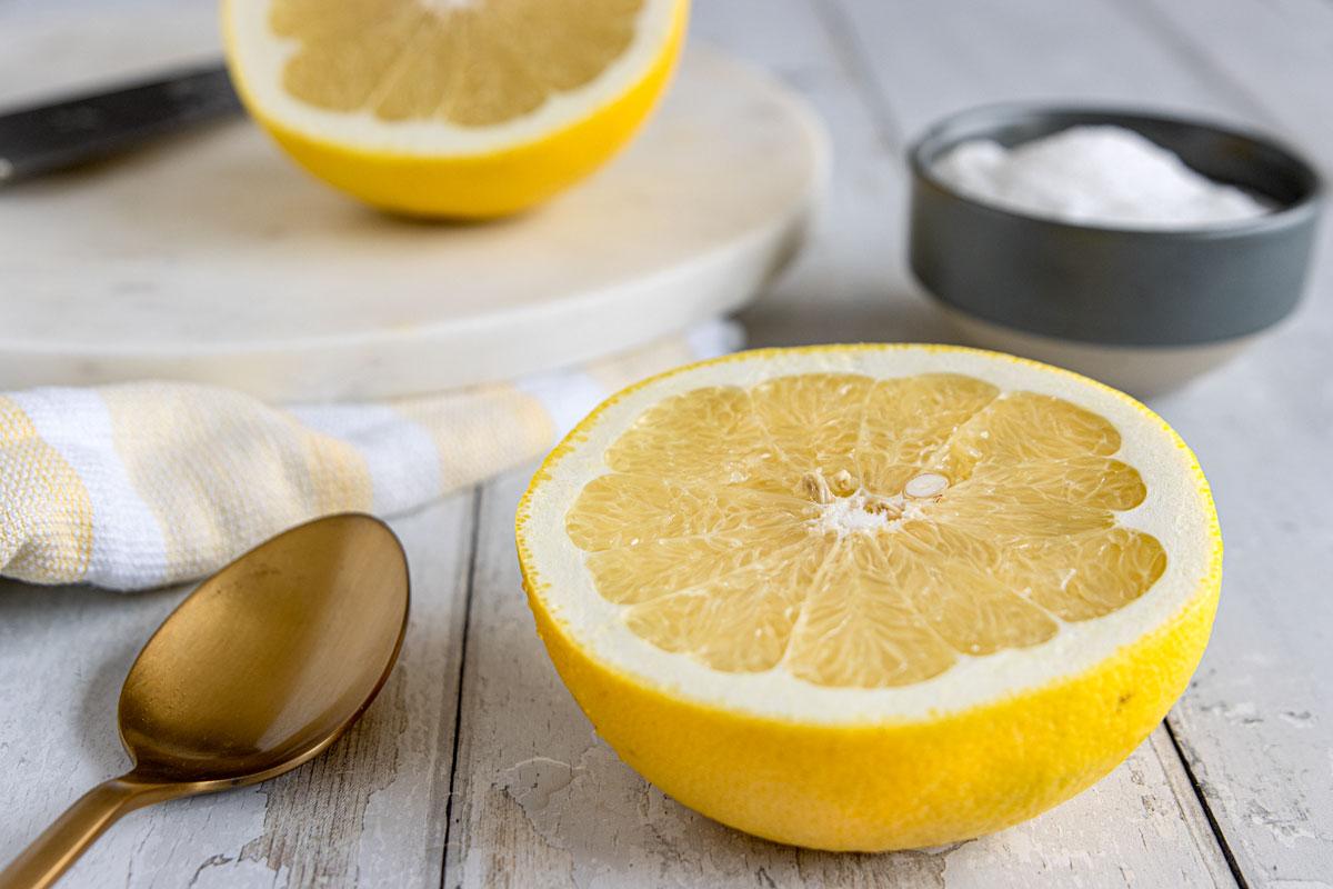 Grapfruits gehören zu den gelben Früchten
