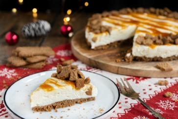 Spekulatius Cheesecake ohne Backen