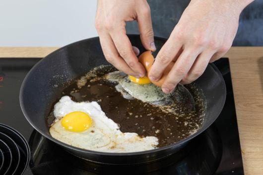 Eier braten