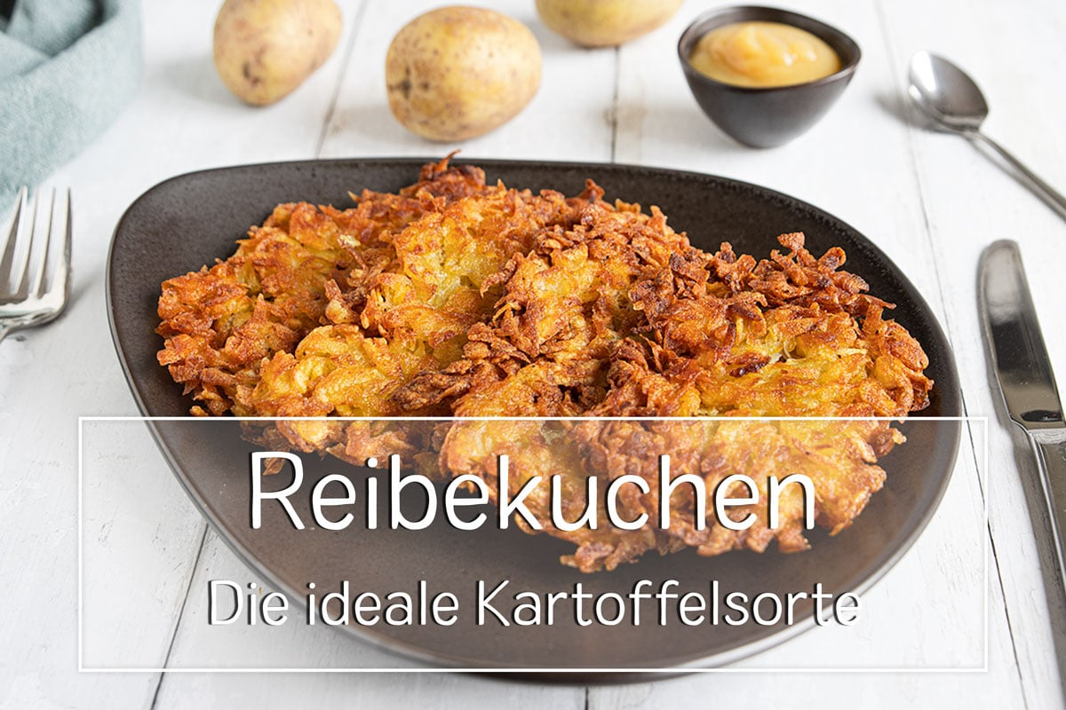 Kartoffeln für Reibekuchen - Titel