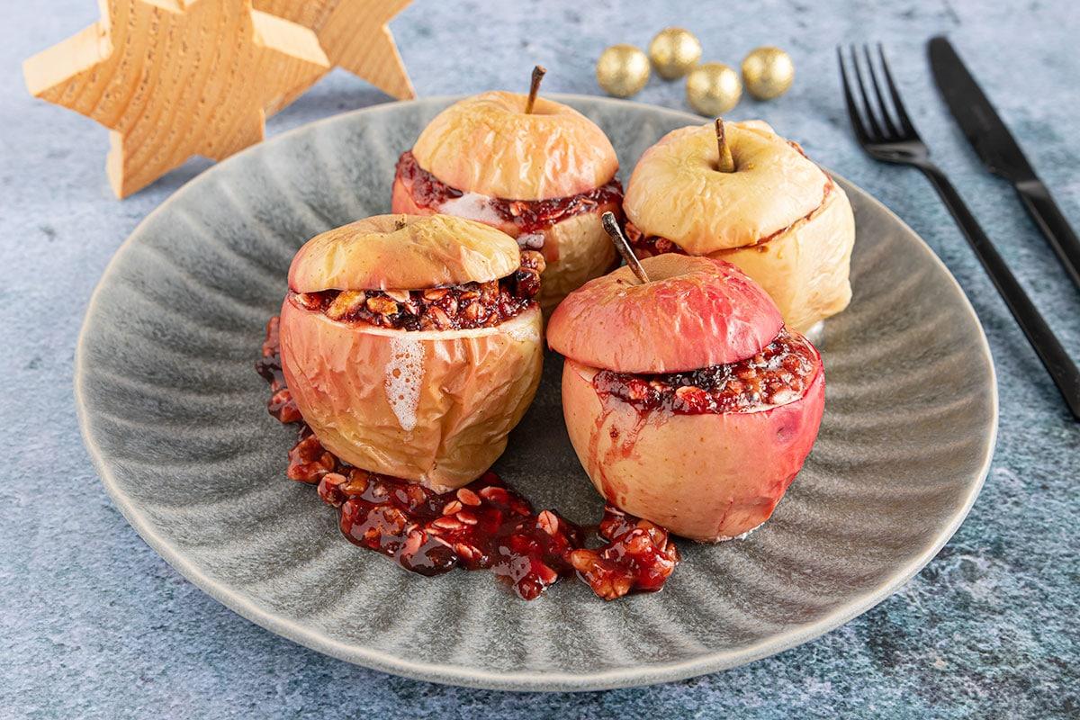 Bratapfel ohne Marzipan
